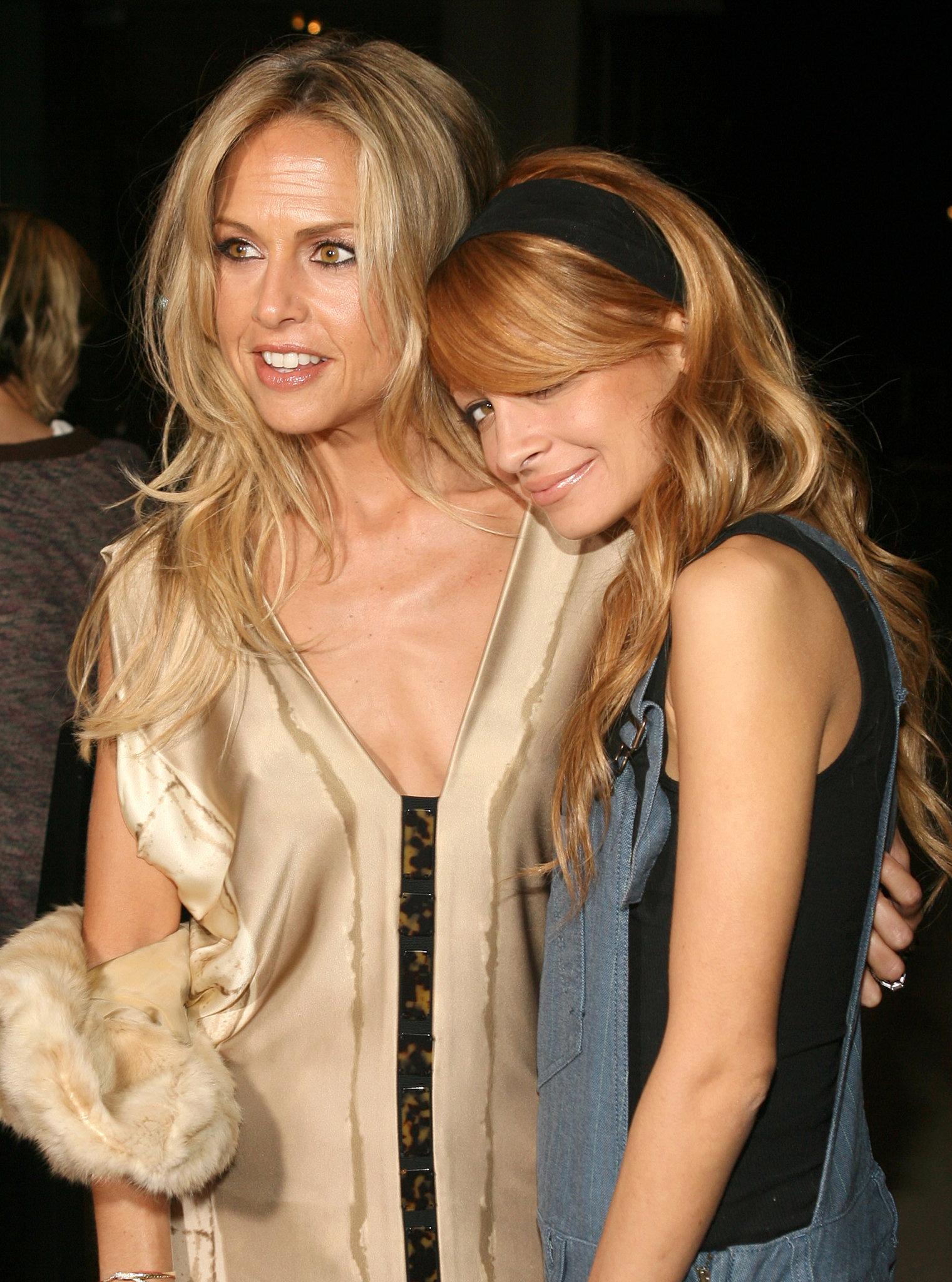 Nicole joined Rachel Zoe at a cocktail party for designer Charlotte Ronson in LA back in October 2006.
