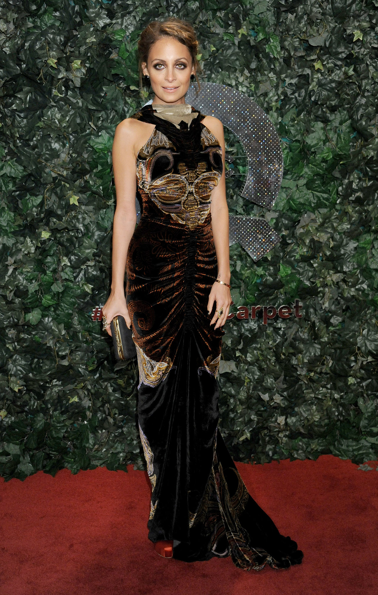 After launching a clothing line for QVC, Nicole Richie hit the red carpet for the company's big LA bash in February 2013.