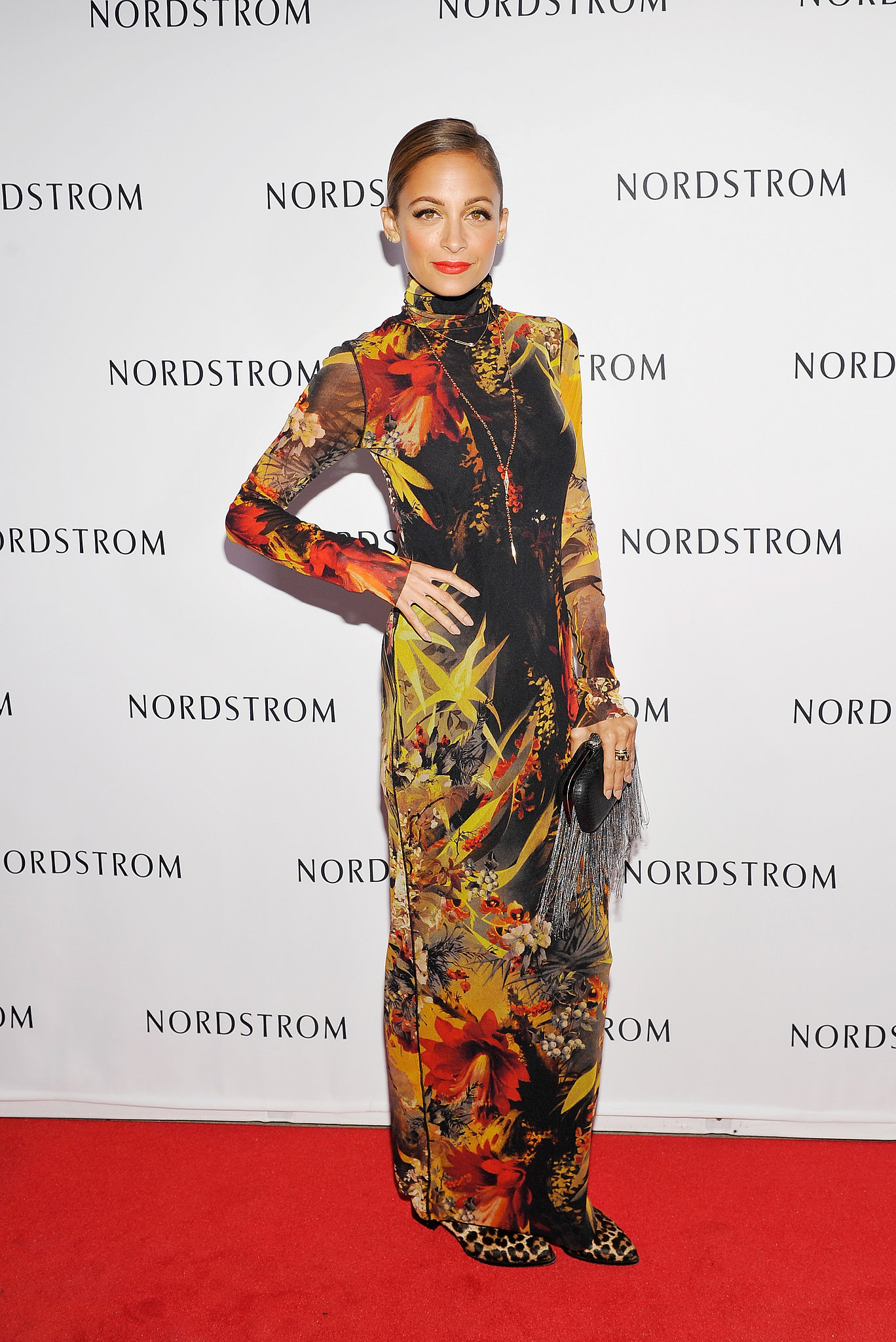 Nicole Richie stepped out for a Nordstrom store opening party in LA in September 2013.