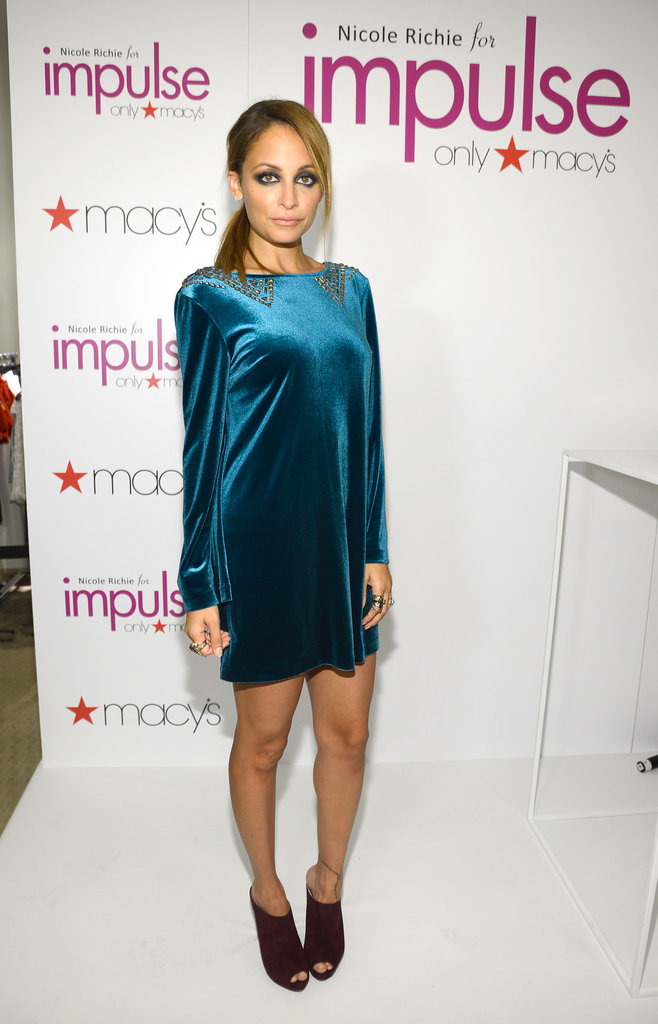 Nicole Richie expanded her empire with a special line for Macy's Impulse, and feted the launch in NYC in September 2012.