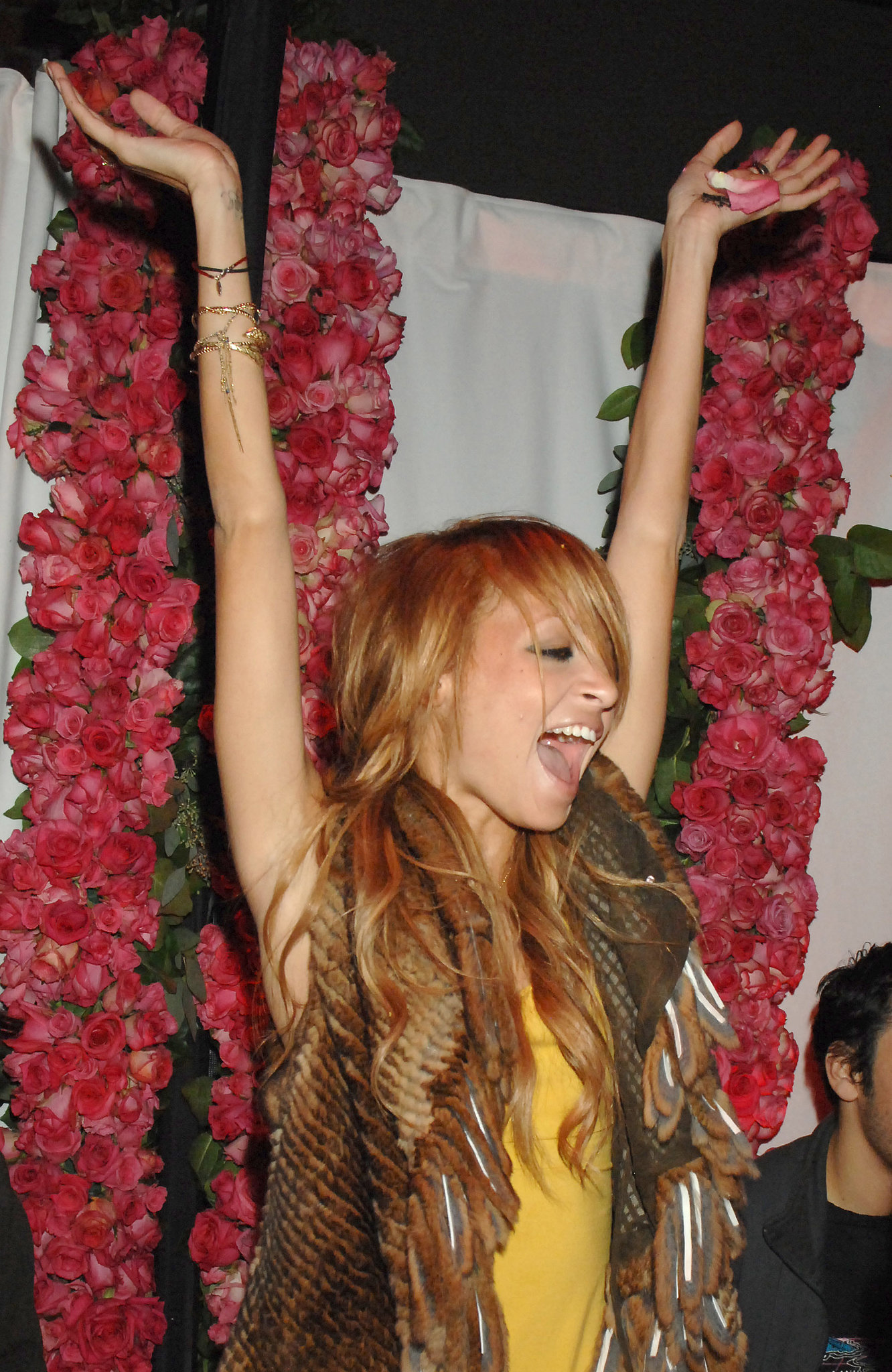 Nicole Richie was the belle of the ball at a launch party for the T-Mobile Sidekick in October 2006 (yes, we said T-Mobile Sidekick).