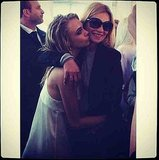 Look who Cara Delevingne found: Kate Moss! Source: Instagram user caradelevingne