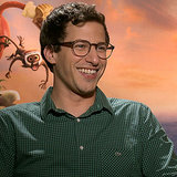 Andy Samberg and Anna Faris Cloudy Movie Interview (Video)