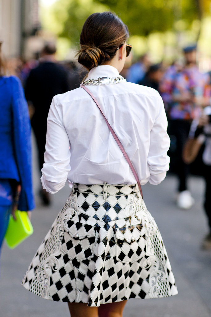 You can't ignore a skirt like this.