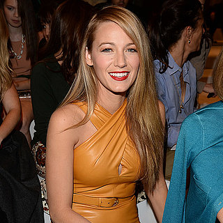 Blake Lively Hair at 2014 Gucci Milan Fashion Week
