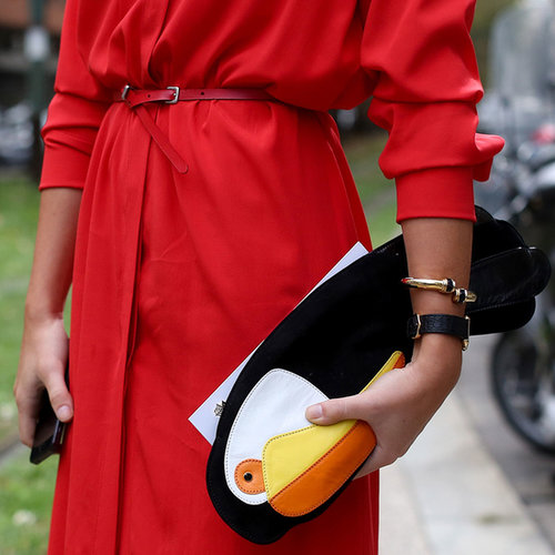 Milan Fashion Week Street Style Accessories