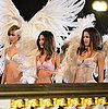 Victoria's Secret Models Film Their Holiday Commercial