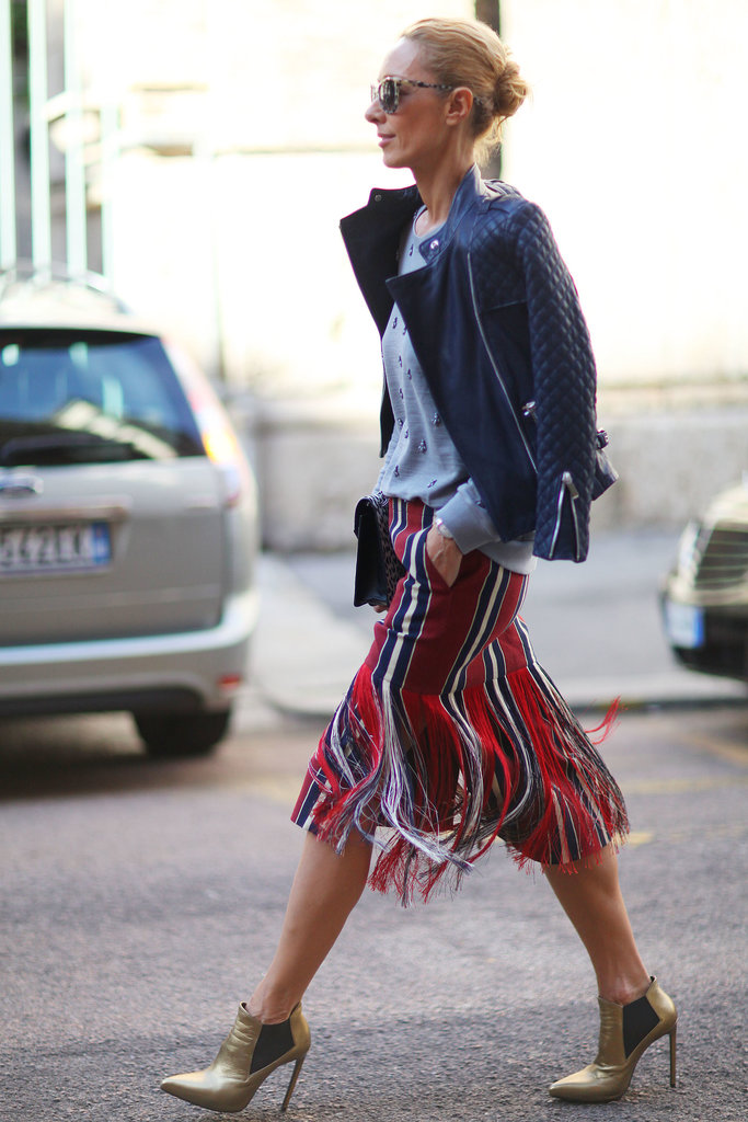 We don't just love the way this looks — check out how that skirt moves!
