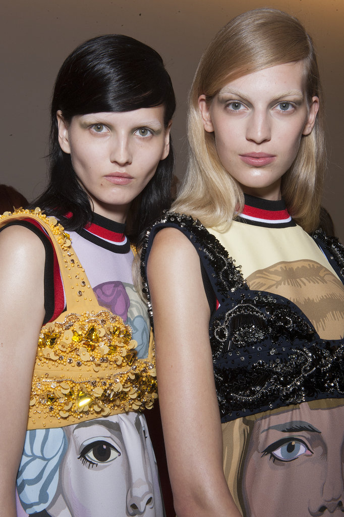 Are Bleached Brows Back? Prada Thinks So