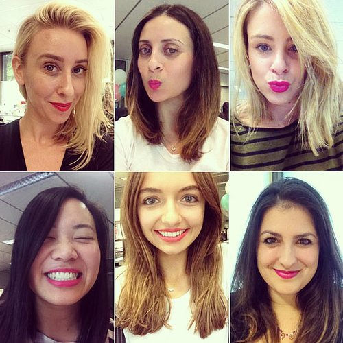 Bright Pink Lipstick Day 2013
