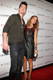 Robin Thicke and Nicole Richie met up on the red carpet at a Macy's event in LA in Sept. 2012.