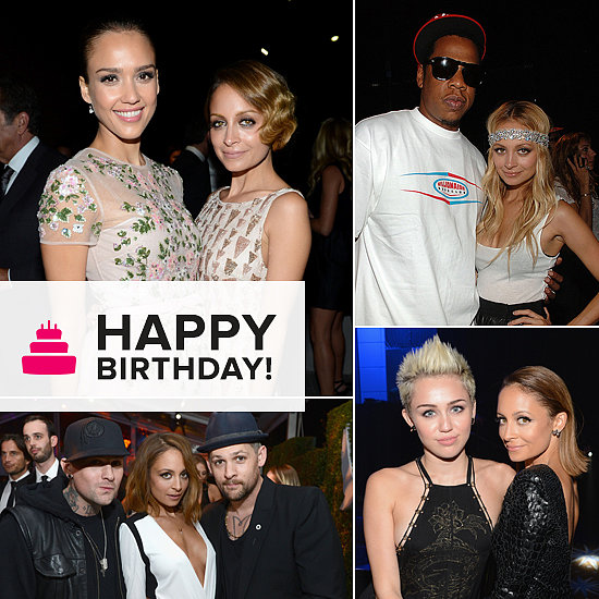 Happy Birthday, Nicole Richie — See Her Pose With Friends!