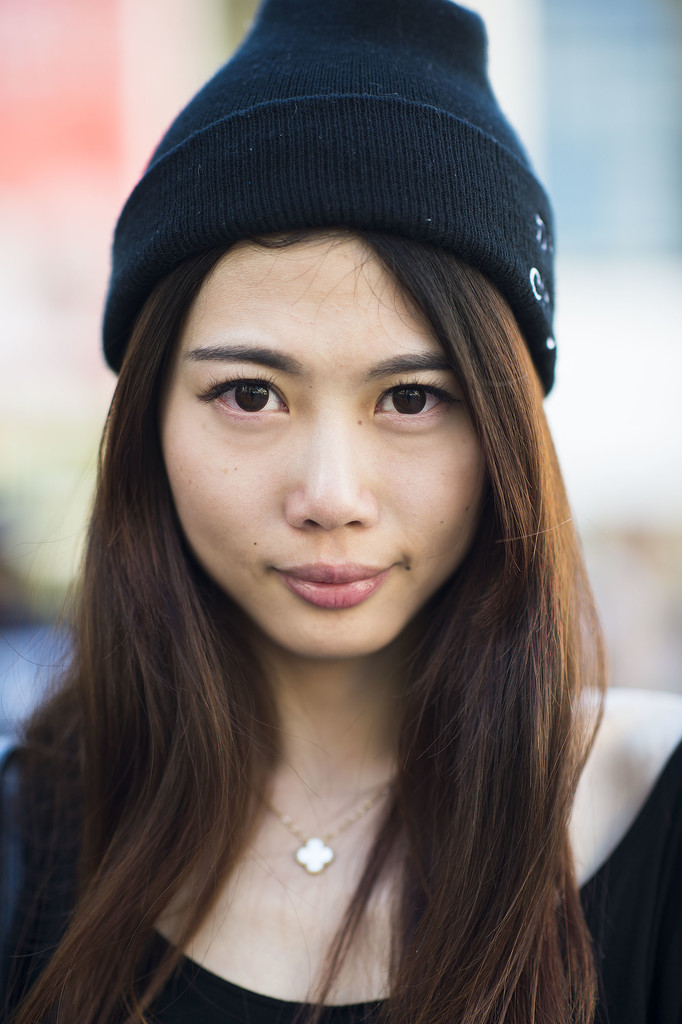 A swipe of pink under the eyes and loads of mascara make this look an A-plus. Source: Le 21ème | Adam Katz Sinding