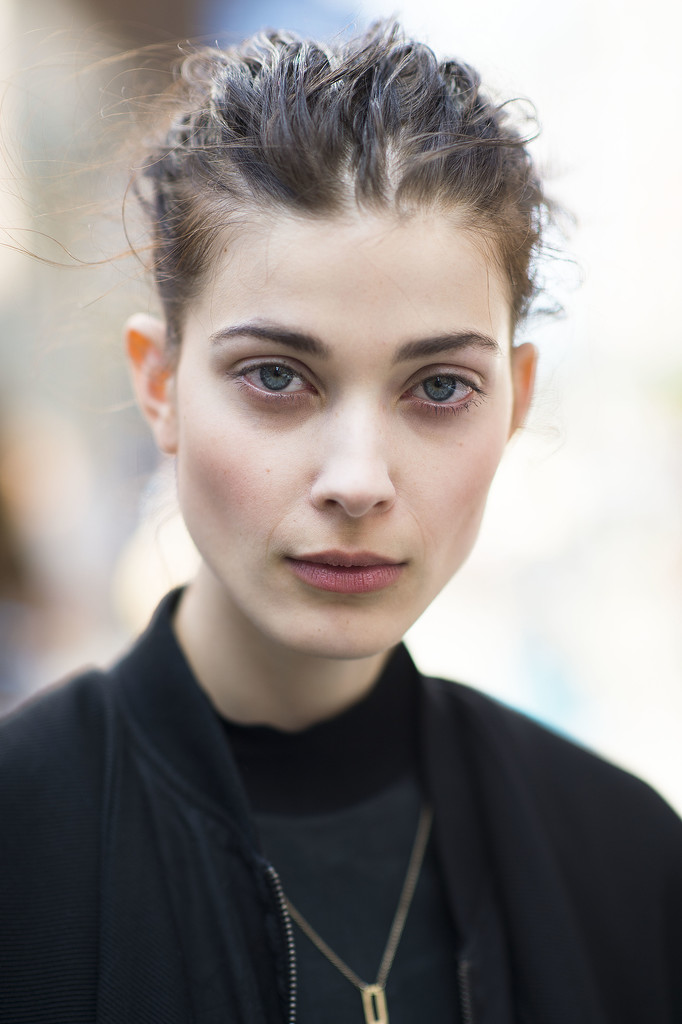 Sometimes, a totally textured ponytail is all you need to made a statement.  Source: Le 21ème | Adam Katz Sinding