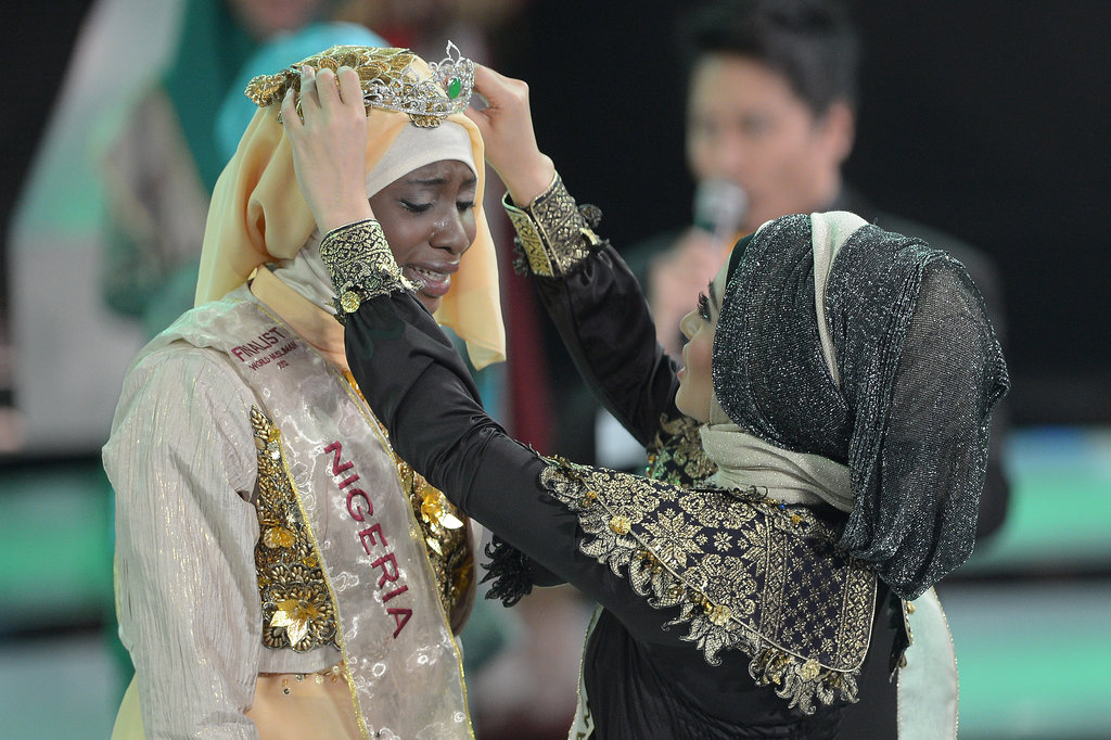 Obabiyi Aishah Ajibola of Nigeria was crowned the winner.