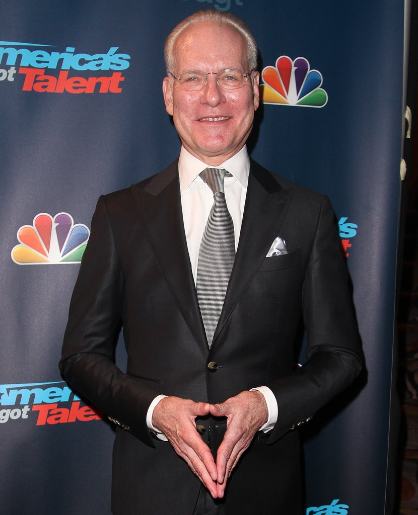 Project Runway's Tim Gunn is slated to present.