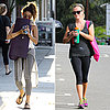 Reese Witherspoon Takes Yoga