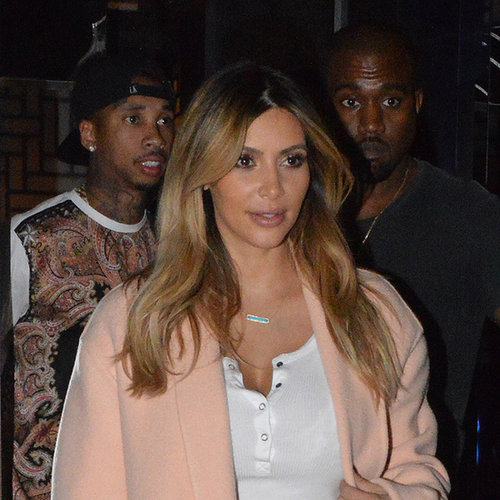 First Pictures: Kim Kardashian & Kanye West Date Night