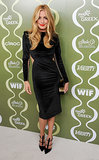 Cat Deeley's Maria Lucia Hohan LBD featured a demure hemline but sexy side cutouts at the Variety and Women in Film pre-Emmys party. She finished with equally killer Gio Diev strappy pumps.