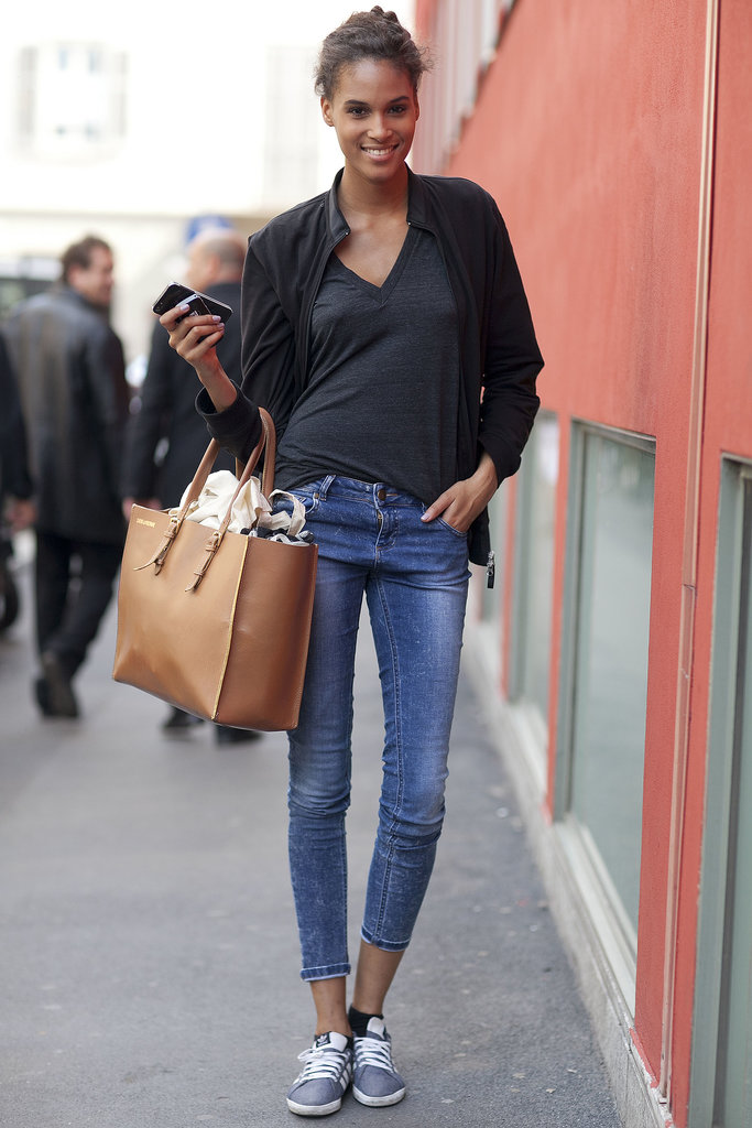 After the flurry of Fashion Week, simple skinnies look downright heavenly.