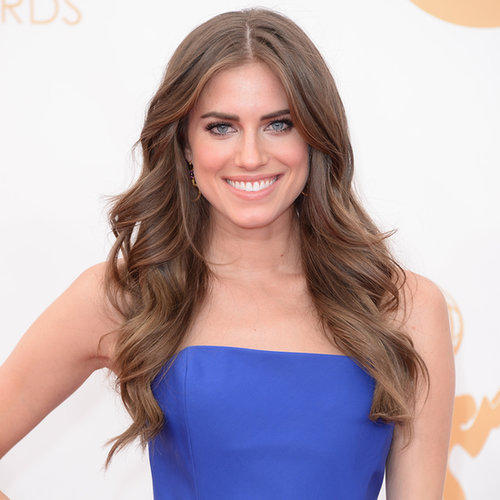 Allison Williams Hair and Makeup at Emmys 2013 | Pictures