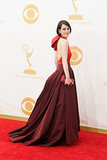 Michelle Dockery on the Emmy Awards red carpet.