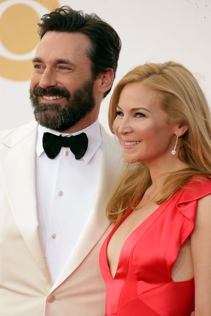 Jon Hamm Keeps a Well-Groomed Beard — We Don't Mind!