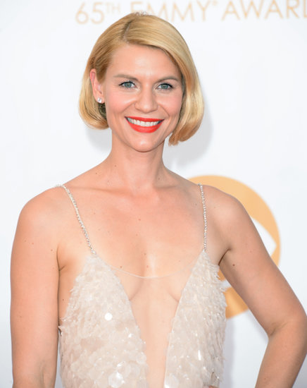Don't worry! Claire Danes didn't get the big chop. But her faux bob was definitely up for the best hair award of the night.
