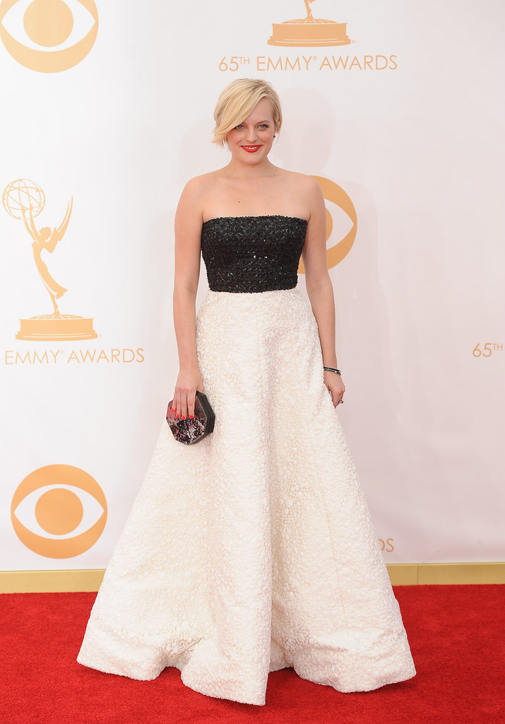 Elisabeth Moss attended the Emmys.