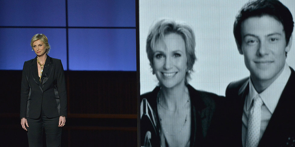 Watch Jane Lynch's Touching Tribute to Cory Monteith