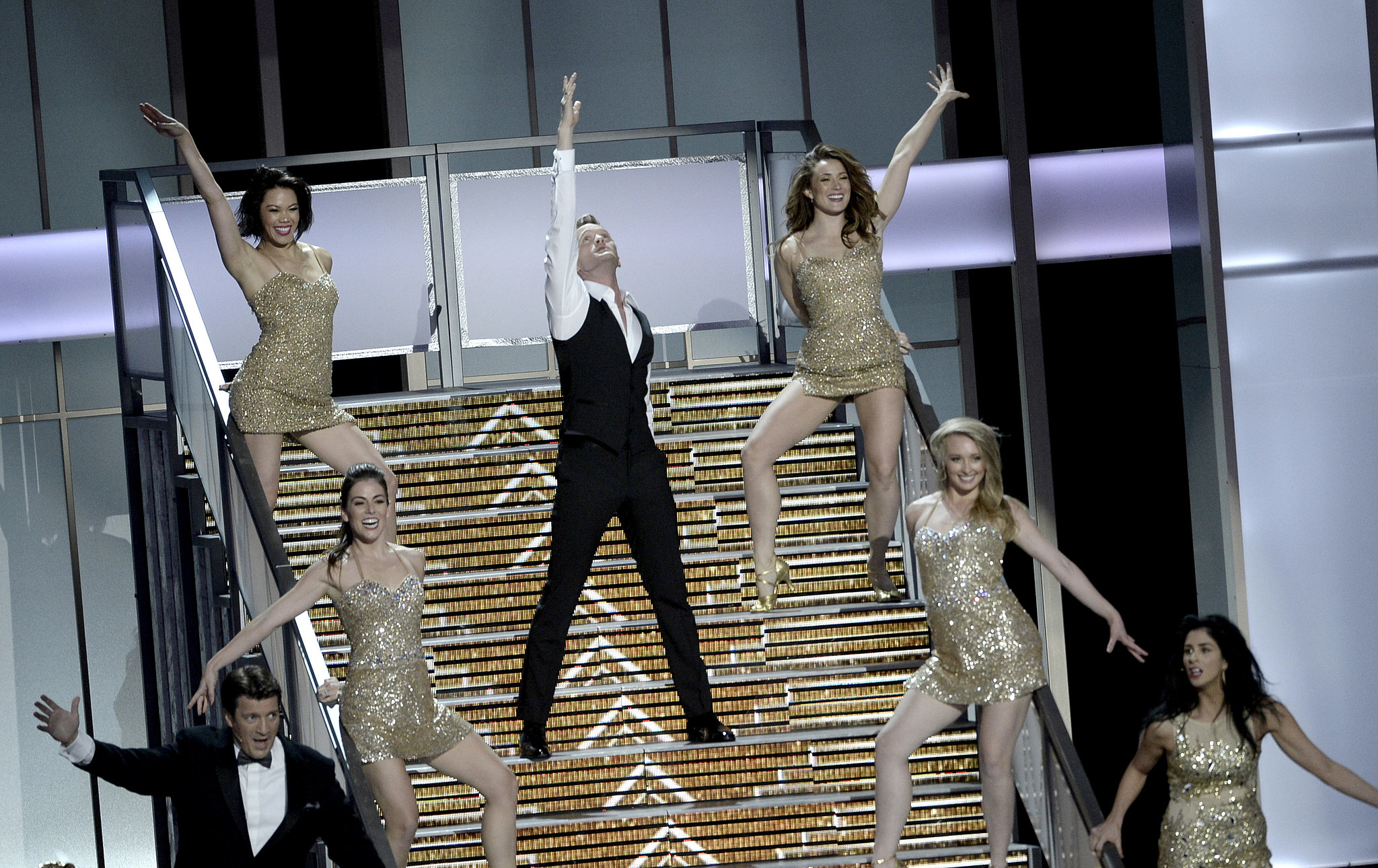 Neil Patrick Harris performed during the Emmys.