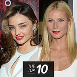 This Week's Most Beautiful: Miranda Kerr, Gwyneth Paltrow & More!