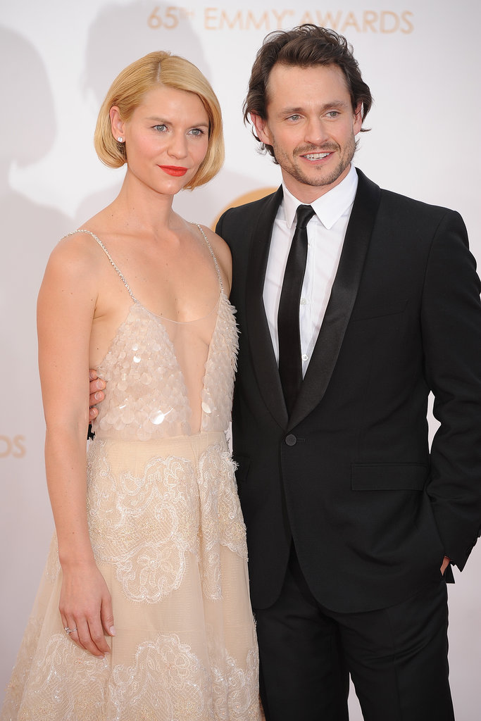 Claire Danes and Hugh Dancy posed together at the Emmy Awards on Sunday.