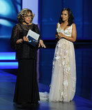 Kerry Washington and Diahann Carroll spoke onstage together.