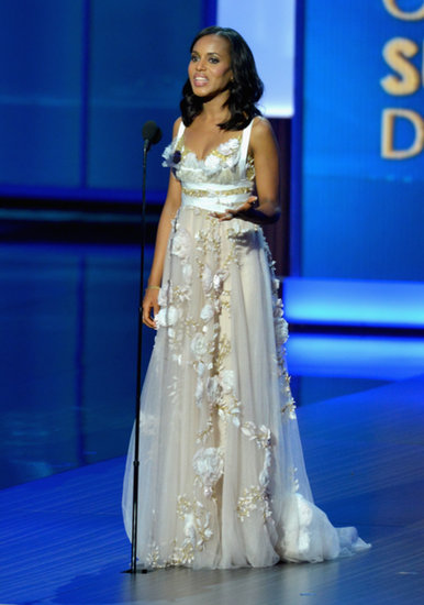 Kerry Washington spoke onstage at the Emmys.