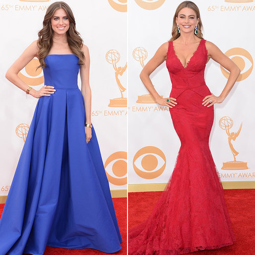 Emmys 2013 Red Carpet Color Trends