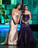 How I Met Your Mother costars Cobie Smulders and Alyson Hannigan presented together at the Emmys.