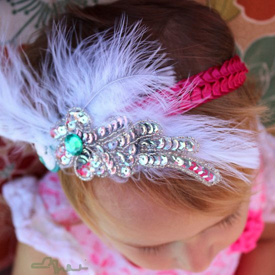 How To: Simple Vintage-Chic Headbands For Babies and Toddlers