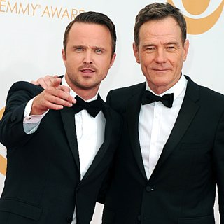 Breaking Bad Cast Emmys Pictures 2013