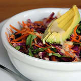 Healthy Rainbow Salad For Detox