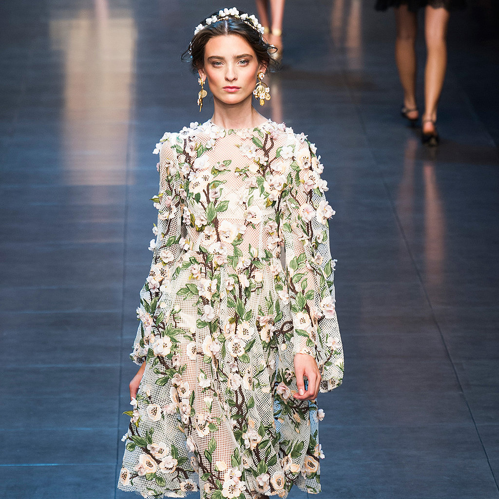 Dolce & Gabbana Spring 2014 Runway Show | Milan Fashion Week