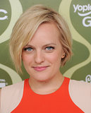 For the Variety Pre-Emmy Party, Elisabeth Moss styled her short cut in tousled waves and her makeup was simply flawless.