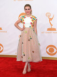Kiernan Shipka attended the Emmy Awards.