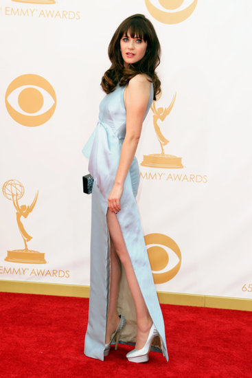 Zooey Deschanel Hits The Emmys Without Her New Girl Guys