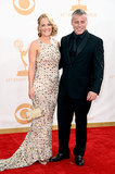 Andrea Anders and Matt LeBlanc