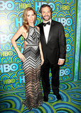Leslie Mann and Judd Apatow arrived at the 2013 HBO Emmys afterparty.