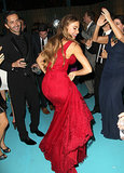 Sofia Vergara busted a move.