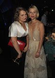 Merritt Wever met up with Claire Danes at the 2013 Emmys Governors Ball.