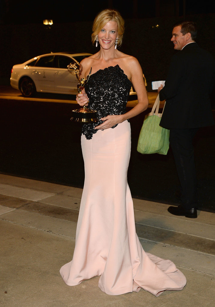 Anna Gunn arrived at the 2013 Emmys Governors Ball.