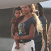 Beyonce and Blue Ivy Carter in Puerto Rico